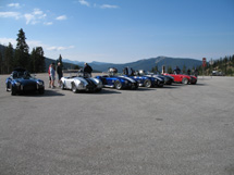 Monarch Pass Shelby Cobras