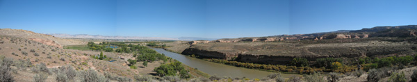 Colorado River panorama