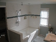 Regas master bath renovation