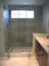 Duffy master bathroom tile