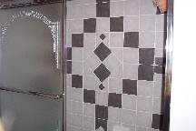 Rozen bathroom tile