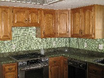 Liley kitchen backsplash tile
