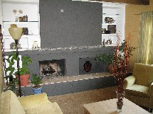 Anderson fireplace hearth tile